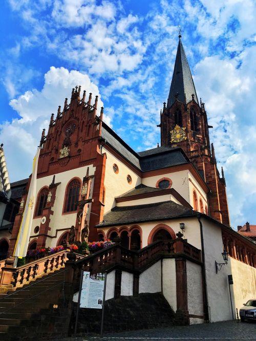 germany church aschaffenburg