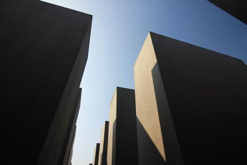 holocaust memorial germany concrete