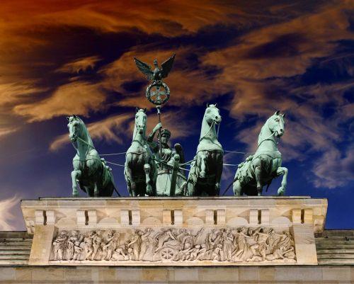 germany the brandenburg gate monument