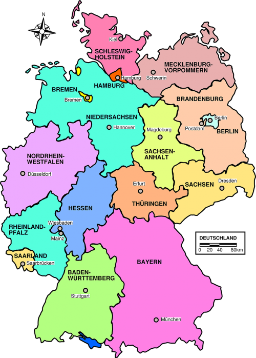 germany map political