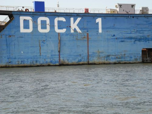 hamburg port dock