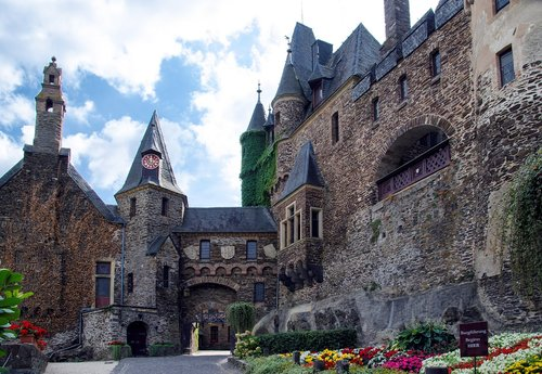 germany  cochem  imperial castle