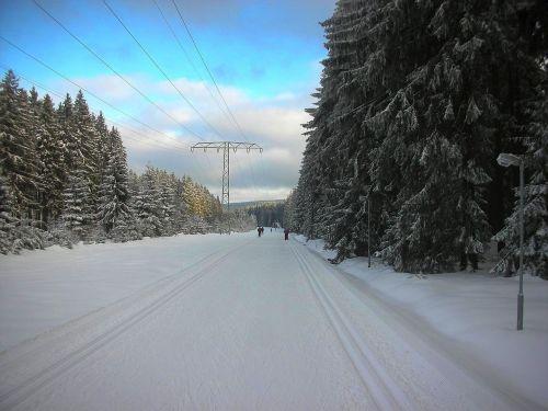 germany landscape winter