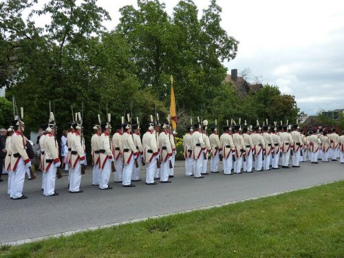 germany soldiers procession