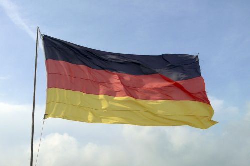 germany flag flag black red gold