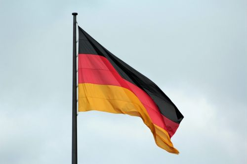 germany flag flag black