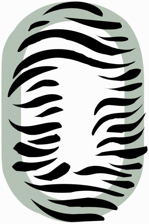 Number 0 Zebra
