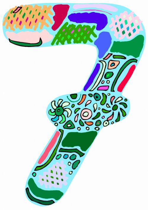 fonas, apdaila, ornamentu, spalva, kūrybingas, modelis, tapetai, iliustracija, numeris, septyni, menas, numeris 7 meno kūrinys
