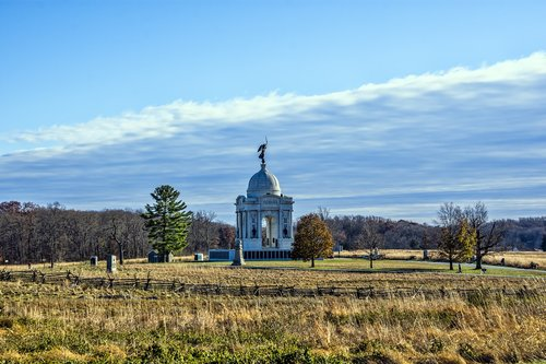 gettysburg  monument  pennsylvania