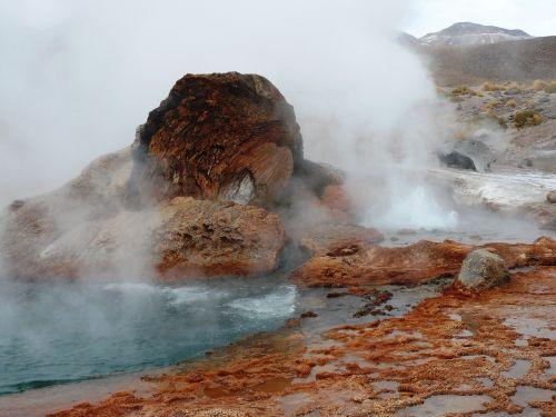 geyser landscape unrest