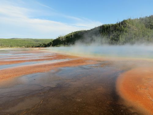 geyser thermal feature hot pool