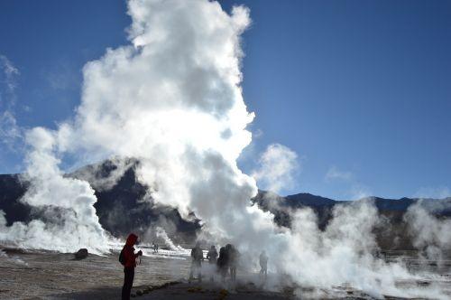 geyser atacama chile