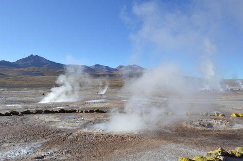geysers atacama desert chile