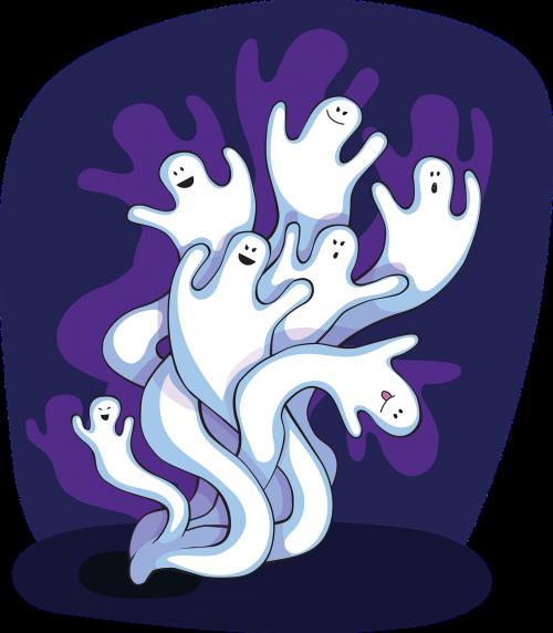 ghost spooky halloween