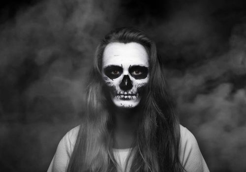 ghost girl smoke