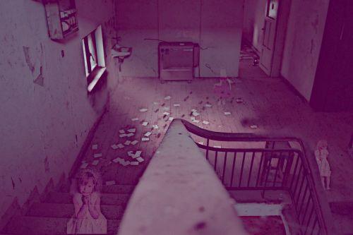 ghost little girls horror