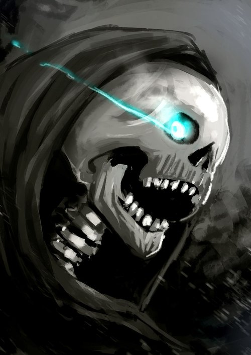 ghost  death  dark