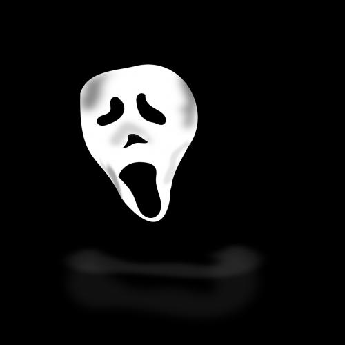 ghost costume scare
