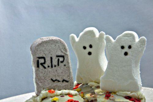 Halloween, vaiduoklis, vaiduoklis, cupcake, cupcakes, maistas, desertas, Zefyras, voratinklis, juoda, tortas, saldainiai, saldainiai, balta, vaiduoklis cupcakes