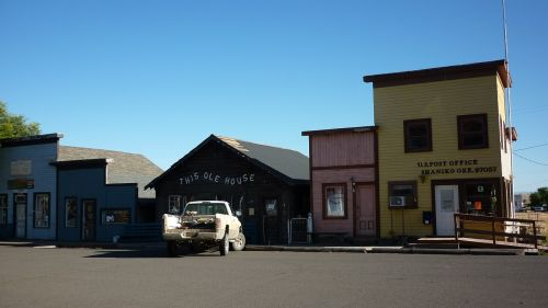 ghost town shaniko oregon
