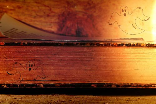 ghosts book old