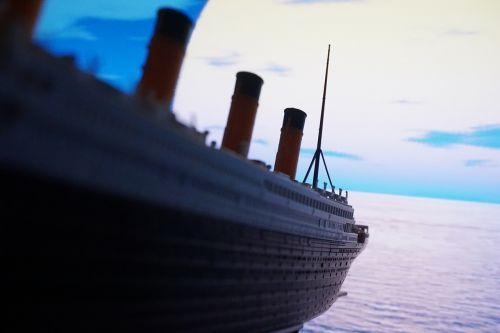 giant downfall pleasure boat