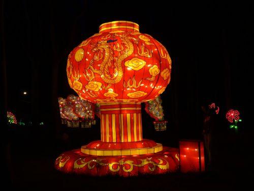 giant chinese lantern festival of lights dandenong