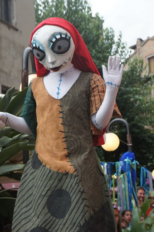 corpse bride giant doll animation