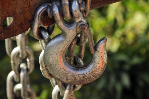 Giant Metal Hook