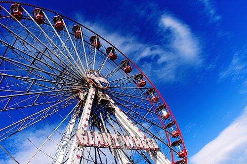 giant wheel  fairground  ferris