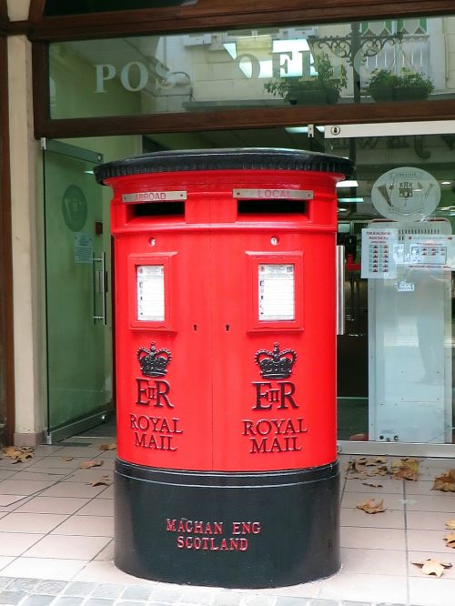 gibraltar box mailing post