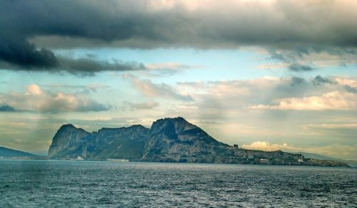 gibraltar strait mountains