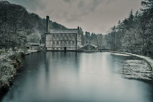 gibsons mill  hardcastle crags  yorkshire