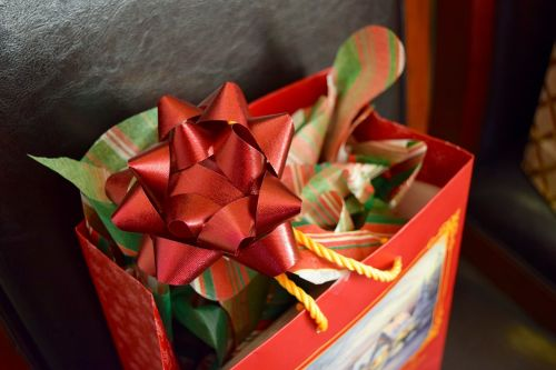 gift christmas red