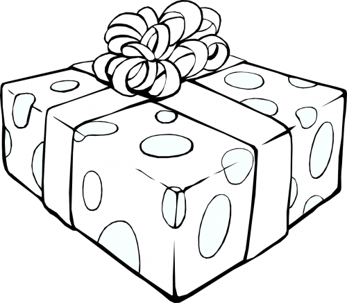gift present ribbon