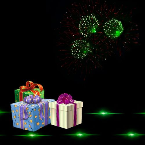 gift happy new year eve