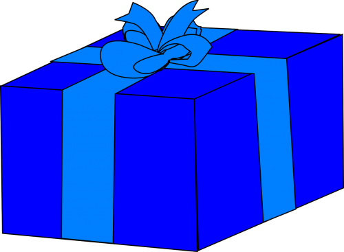 gift present wrapped