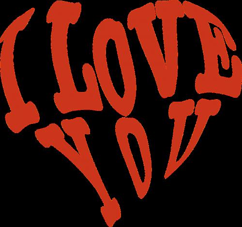 gift box heart love