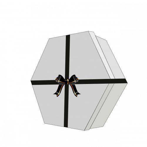 Gift Box Ribbon Bow