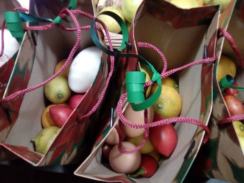 gifts eggs tapes