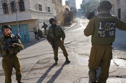 gilbert checkpoint soldiers hebron