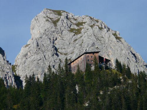 gimpelhaus mountain hut hut