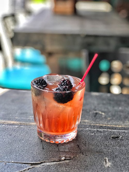 gin  blackberry  cocktail