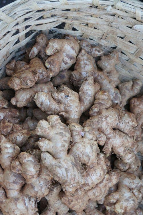 ginger market vegetables