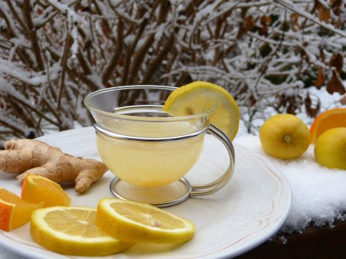 ginger lemon orange