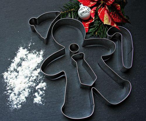 gingerbread man cookie christmas