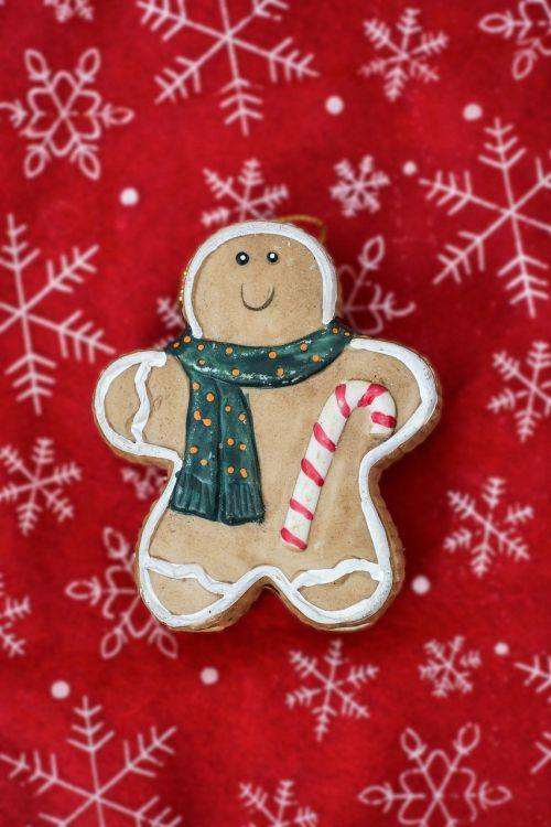 gingerbread man decoration christmas