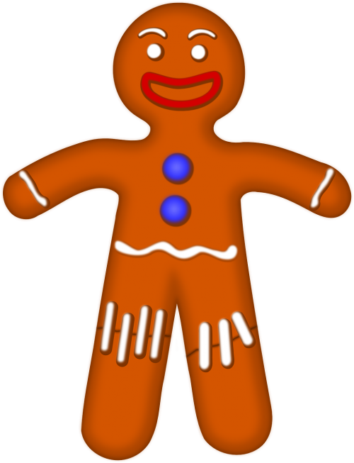 gingerman biscuit gingerbread