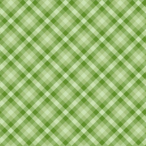Gingham Checks Green