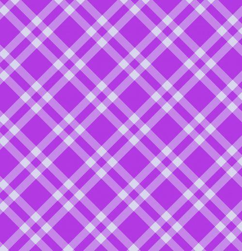 Gingham Checks Purple